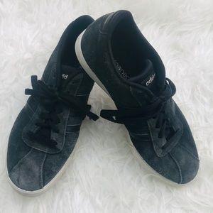Adidas black suede Gazelles. Size 7 1/2.
